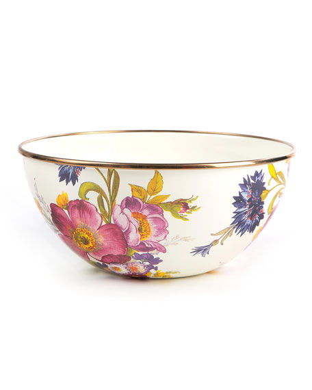 Image 1 of 1: Flower Market Small Everyday Bowl