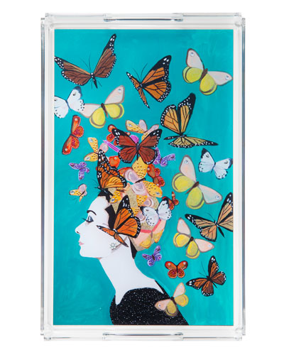 Audrey Butterfly Tray