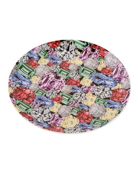 """Gem Porcelain Plate, 10.75"""""""