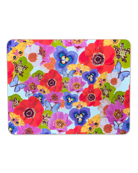 Flowers Butterflies Placemat