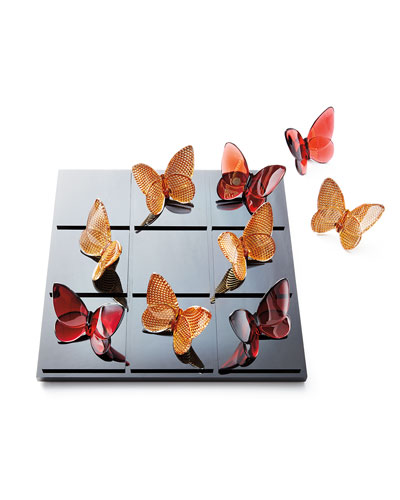 Butterfly Tic Tac Toe Set