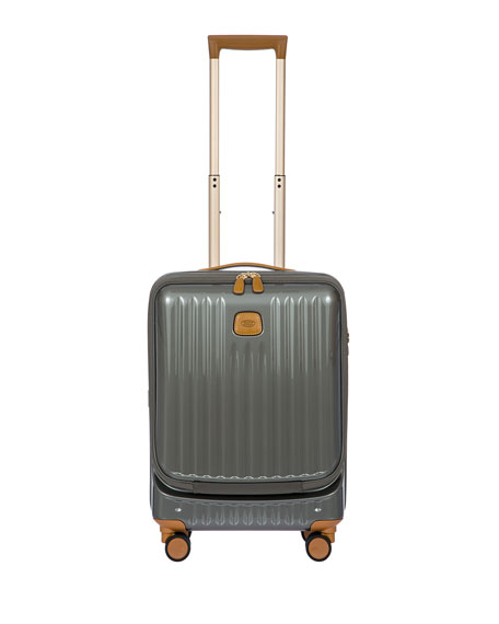 "Bric's Bags CAPRI 21"" CARRY-ON SPINNER LUGGAGE"
