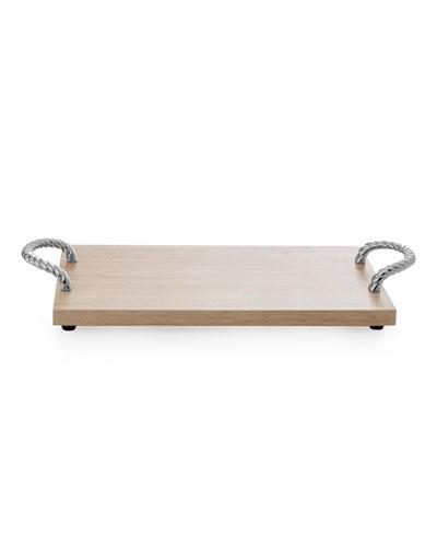 Twist Wood Bread Board