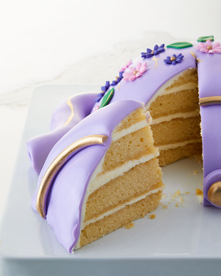 Early Grey Lavender Teapot Cake
