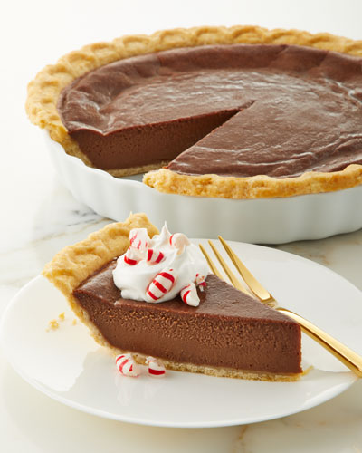 Peppermint Chocolate Pie
