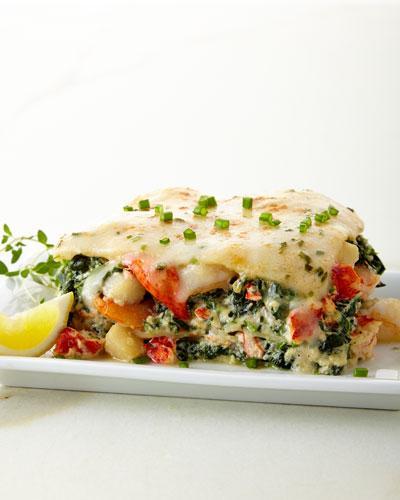 Lobster  Shrimp & Scallop Lasagna