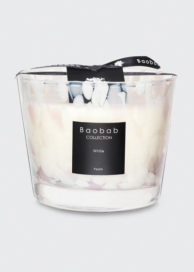 White Pearls Candle  4