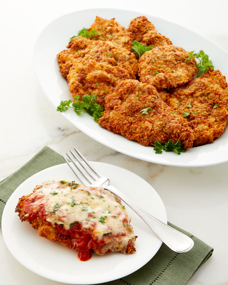 Parmesan Crusted Chicken Breasts, Set of 8