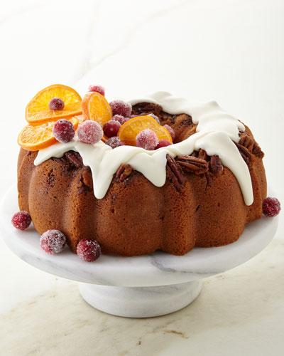Cranberry Orange Pecans Cake