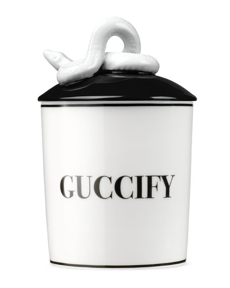 Guccify Cat Candle
