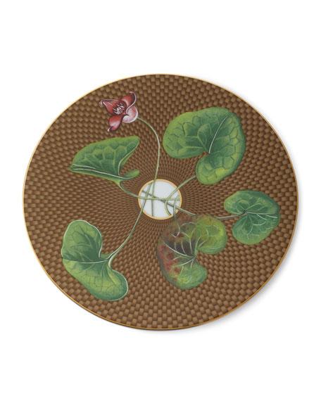 Raynaud Tresor Fleuri Asarum Dessert Plate