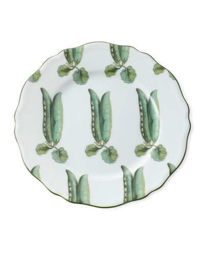 Touraine Pea Pods Dessert Plate
