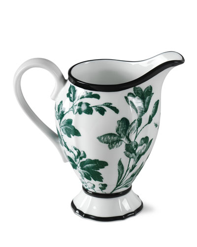 Floral Milk Jug