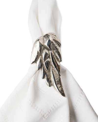 Ala Napkin Rings, Set of 4