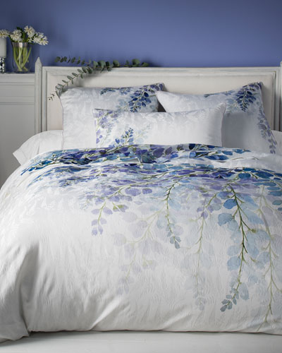 Wisteria 300 Thread-Count King Duvet Cover