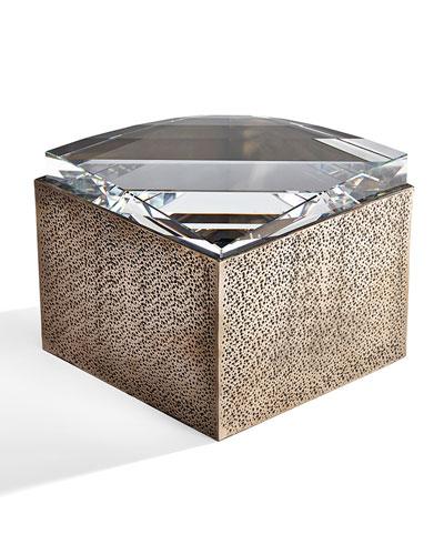 Large Bronze Resin Box