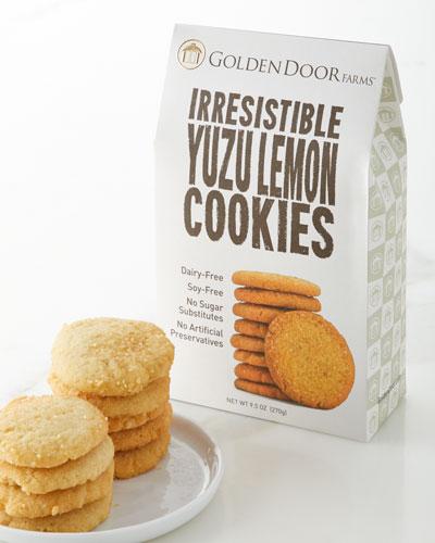 Irresistible Yuzu Lemon Cookies