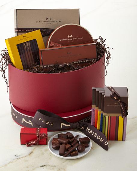 La Maison Du Chocolat Grenat Hatbox