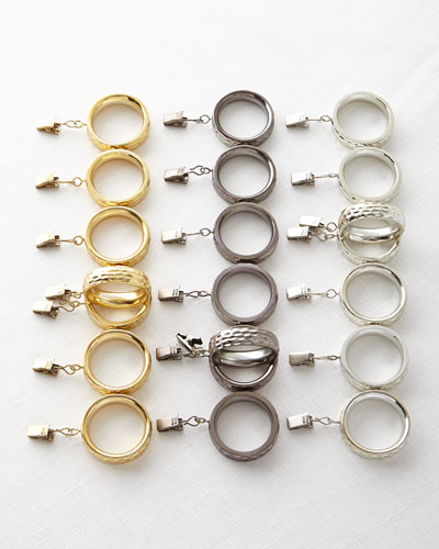 Clip Rings, Set of 7