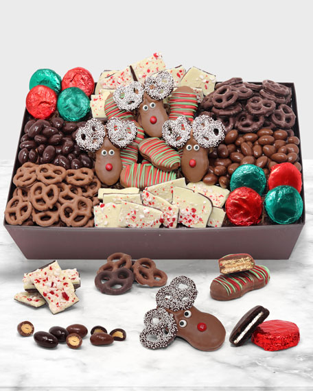 Chocolate Covered Company Perfect Holiday Belgian Chocolate Gift