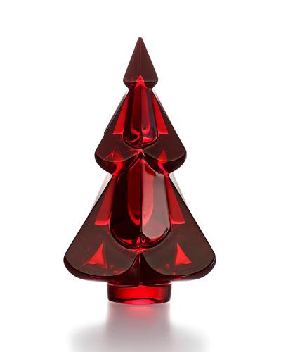 Snow Fir Crystal Tree, Red