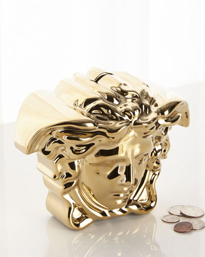Break The Bank Money Box  Gold