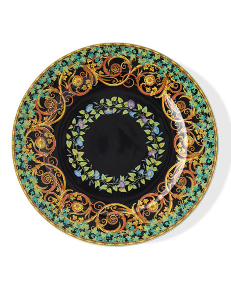 1997 Gold Ivy Dessert Plate