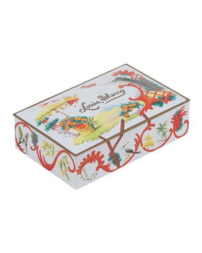 Jardin Chinois 12-Piece Assorted Chocolate Truffle Tin