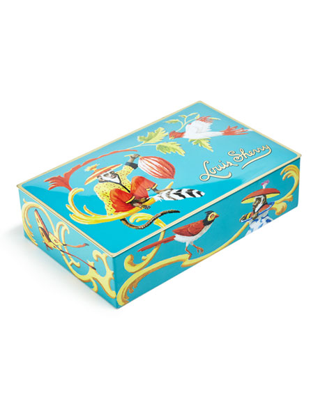 Louis Sherry Singerie Teal 12-Piece Assorted Chocolate Truffle