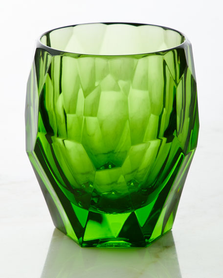 Milly Large Acrylic  Tumbler, Green