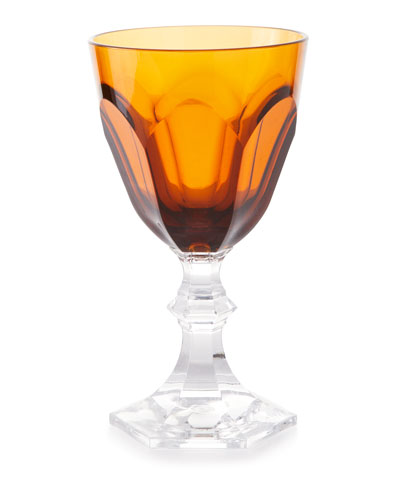 Dolce Vita Acrylic Wine Goblet Glass