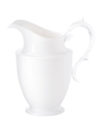 Federica Acrylic Pitcher  White