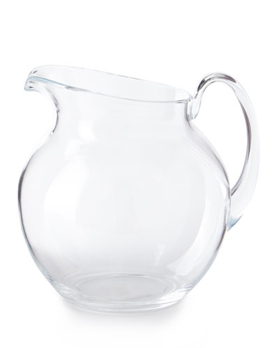 Palla Transparent Acrylic Pitcher  Clear