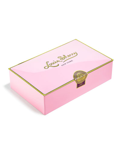 Pink 12-Piece Assorted Chocolate Truffle Tin