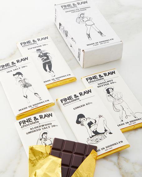 Fine & Raw Chocolate Brooklyn Bonnie 5-Chocolate Bar