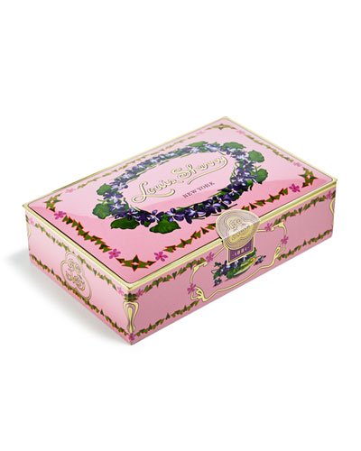 Orchid 12-Piece Assorted Chocolate Truffle Tin