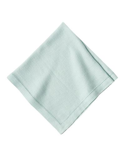 Heirloom Linen Napkin, Ice Blue