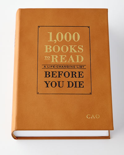 Personalized 1 000 Books to Read Before You Die Book