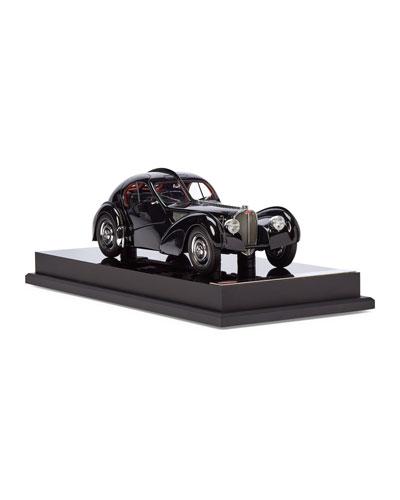 Ralph Lauren's 1938 Bugatti Type 57SC Atlantic Coupe Miniature Scaled Car  Replica