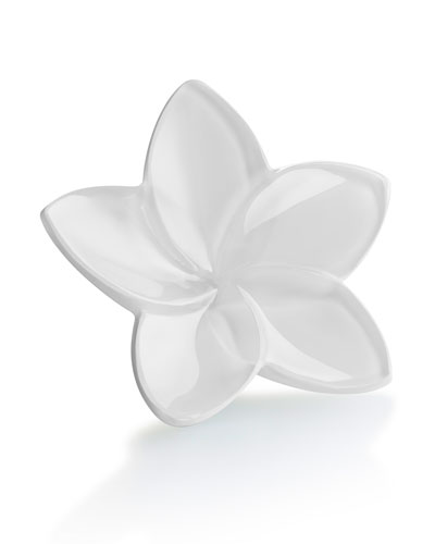 Bloom Crystal Flower Decor, White