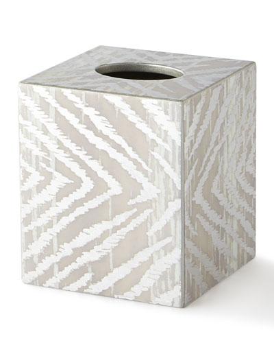 Zebra Tissue Box Cover