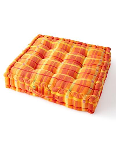 Boheme Plaid Floor Cushion