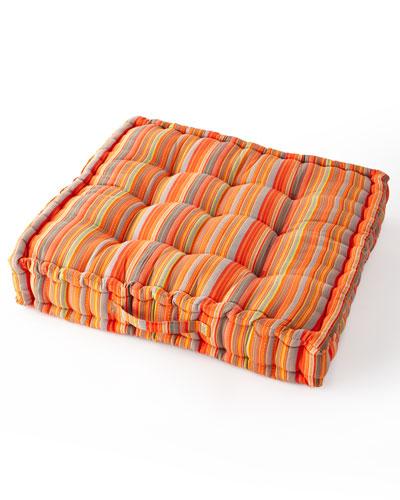 Boheme Mini Stripe Floor Cushion