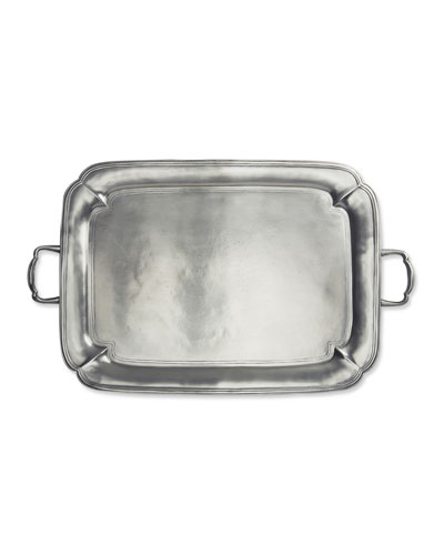 Large Parma Rectangle Tray with Handles