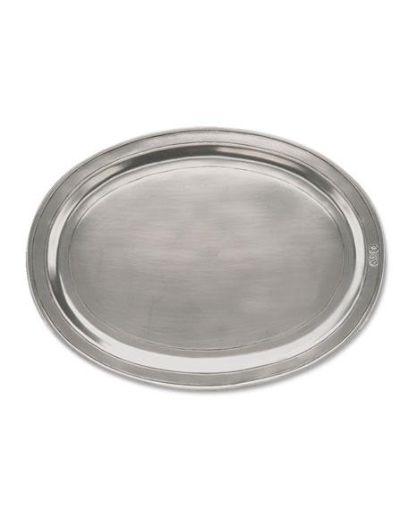 Medium Oval Incised Tray