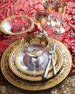 Vetro Gold Wine Glass