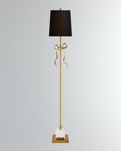 Ellery Grosgrain Bow Floor Lamp