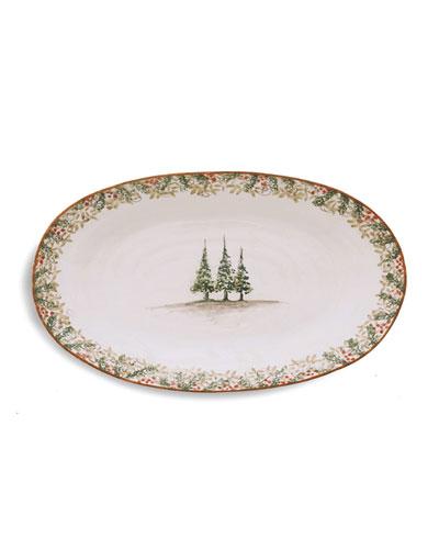 Natale Oval Platter