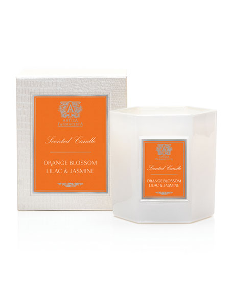 Orange Blossom, Lilac & Jasmine Candle, 9 oz. / 255g
