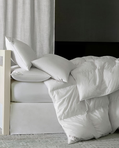 800-Fill European Down Medium Queen Pillow